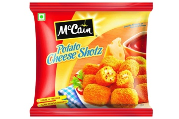 McCain Potato Cheese Shotz Nuggets 1kg