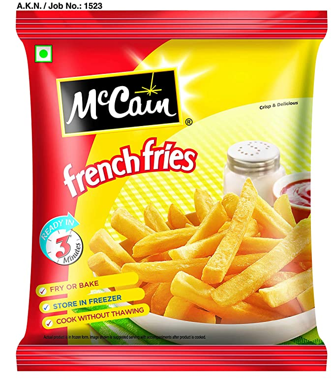Mccain Quick Cook French Fries 750G