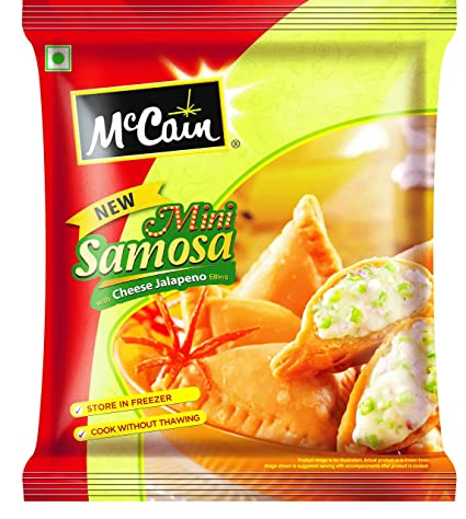 MCC MINI SAMOSA CHEESE JALAPENO 240G