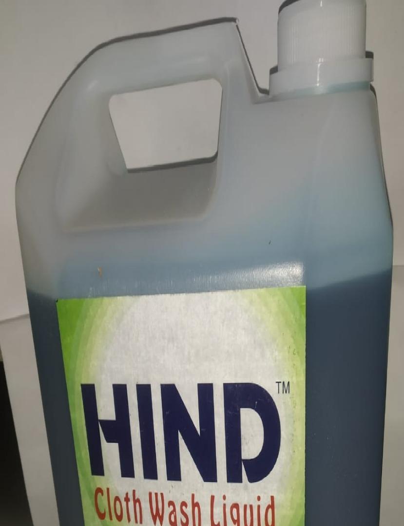 HIND CLOTH WASH LIQUID 5 LTR