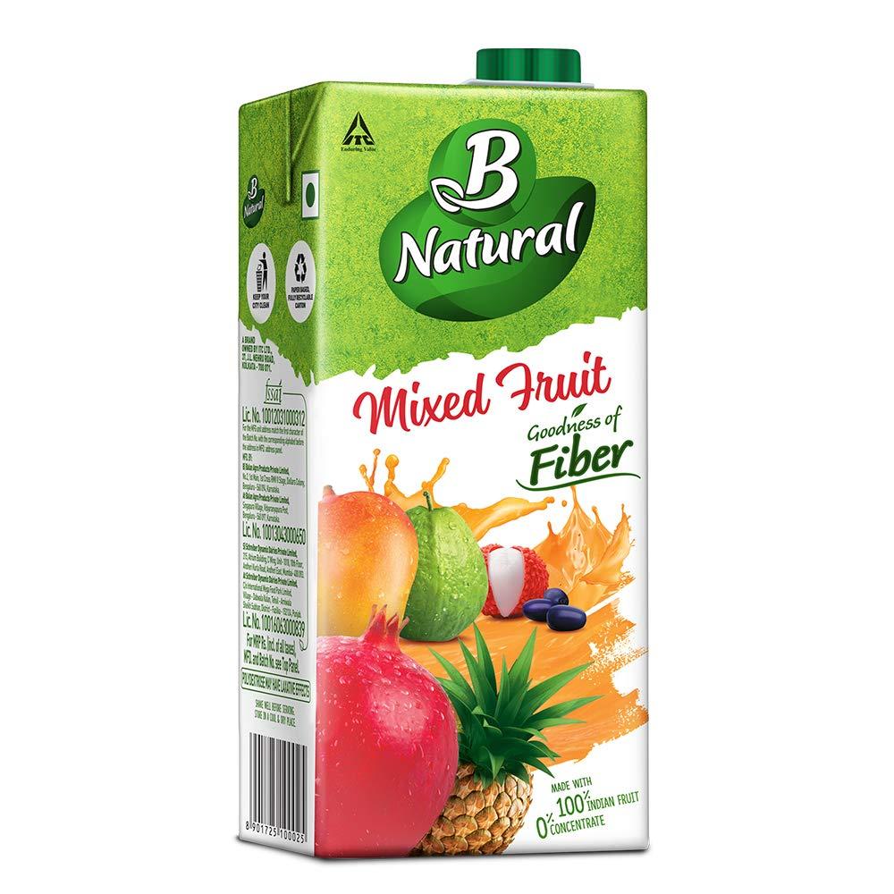 B-NATURAL MIXED FRUIT 1LTR