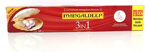MANGALDEEP AGAR 3 IN 1 15NO