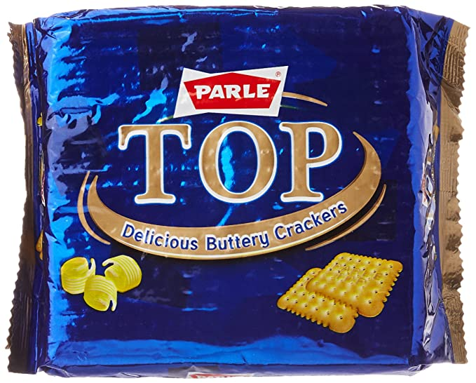 Parle Top Delicious Butter Crackers Cookie, 200g