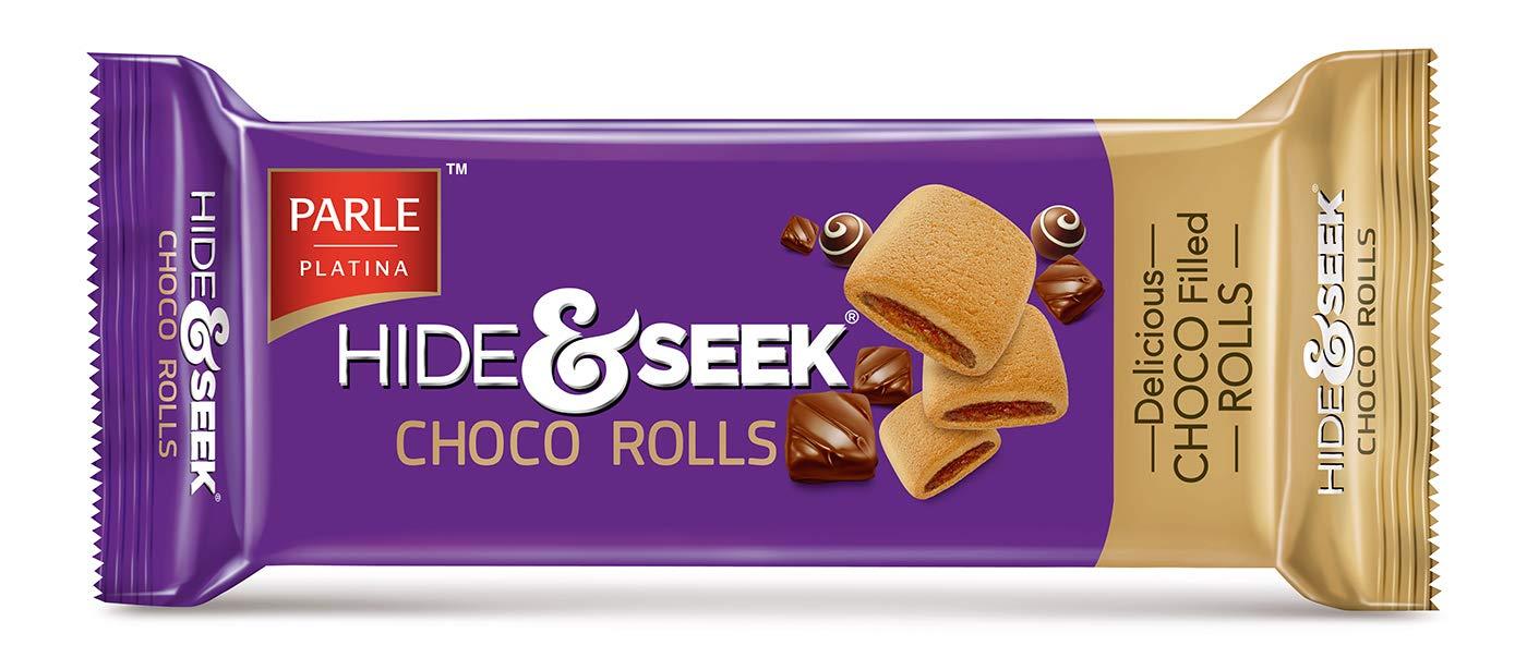 PARLE HIDE N SEEK CHOCO ROLLS 75GM