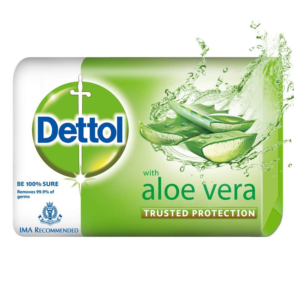 Dettol Aloe Vera Germ Protection Bathing Soap bar 63gm