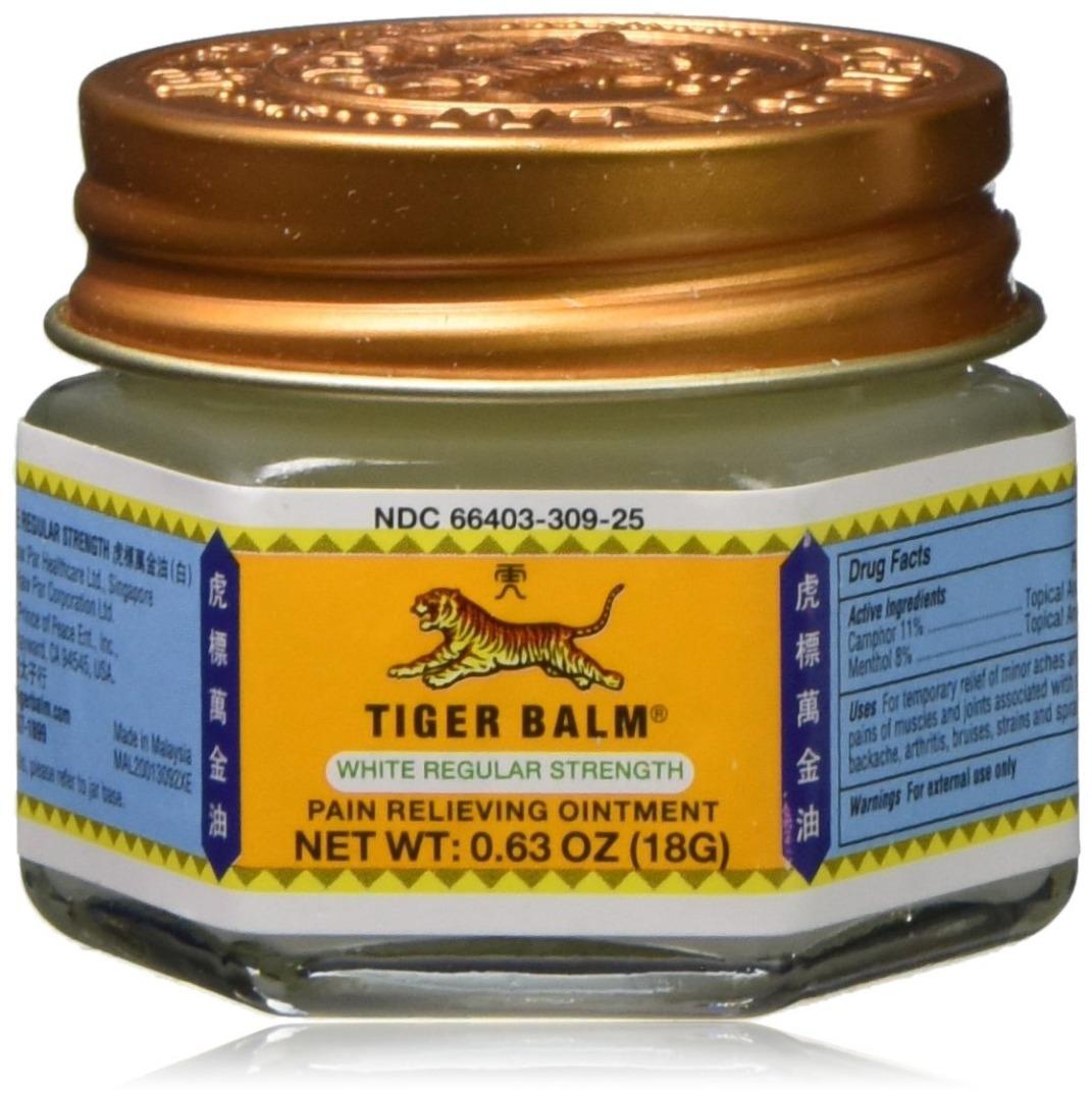 HAW Par Healthcare Tiger Balm Ointment, White