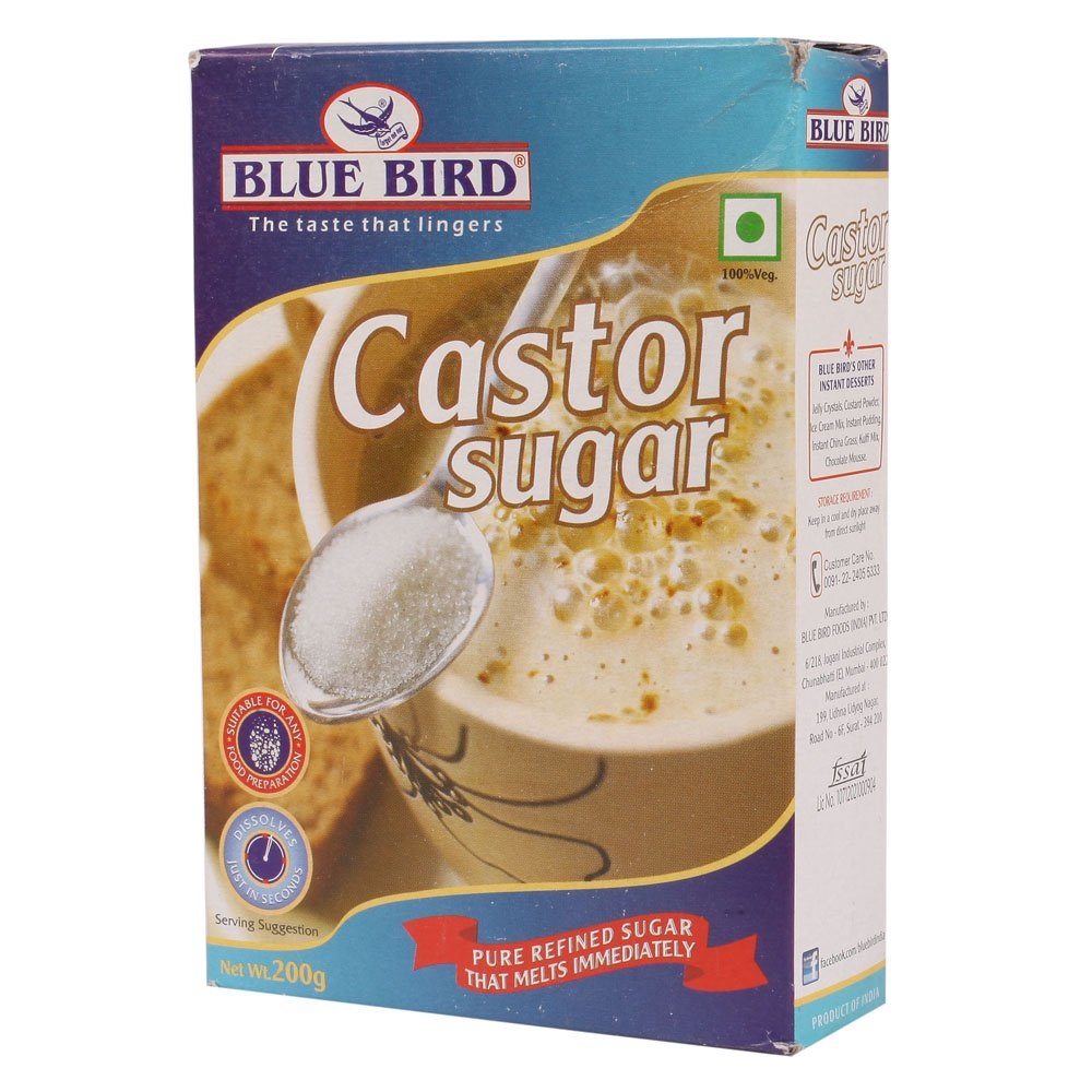 Blue Bird Castor Sugar, 200g