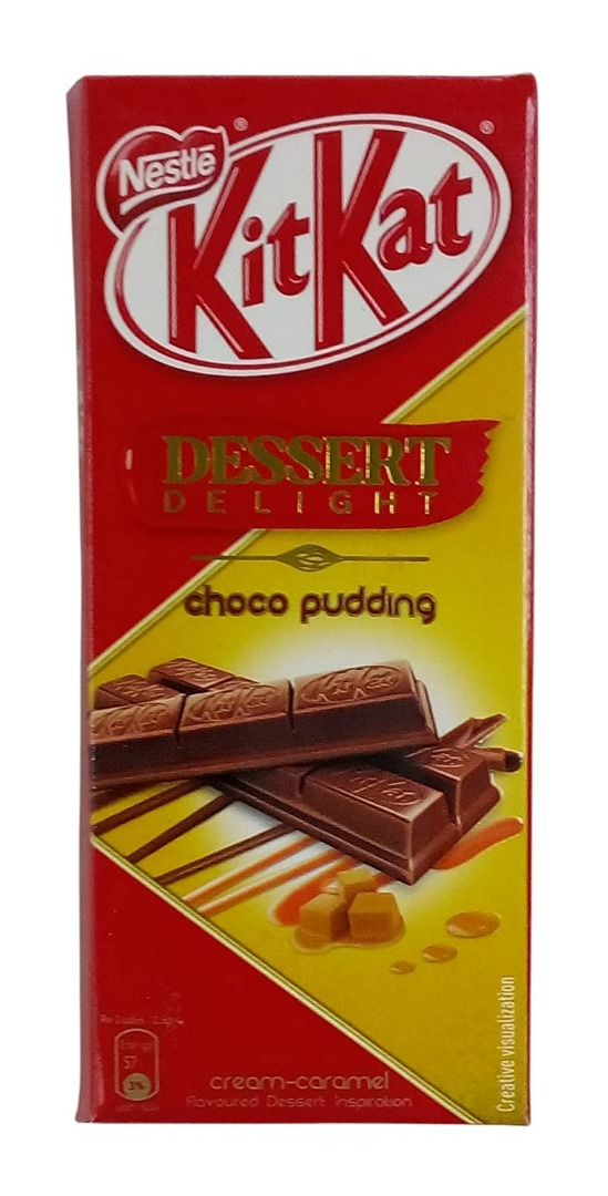 Nestle KitKat Dessert Delight Choco Pudding Wafer Coated with Milk Chocolate, 50 g