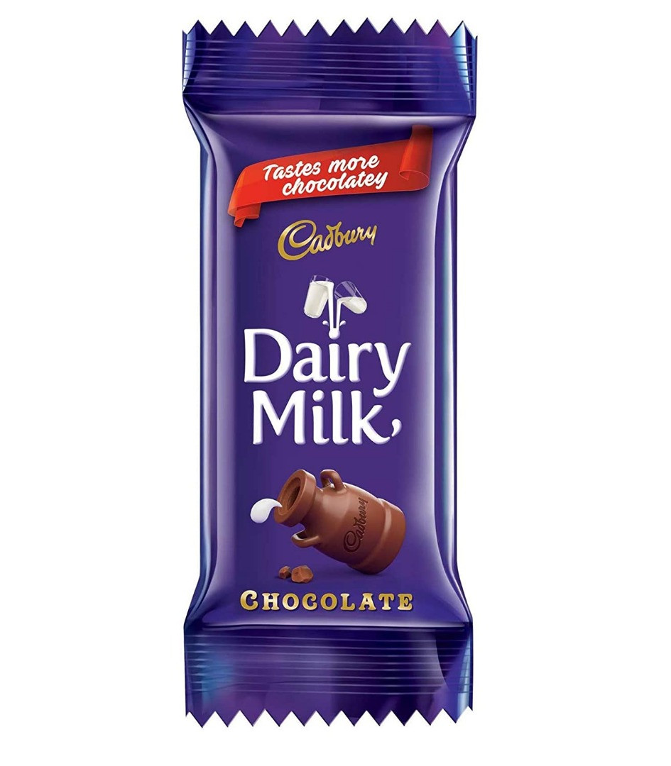 Cadbury Dairy Milk Chocolate, 25.3g Pack