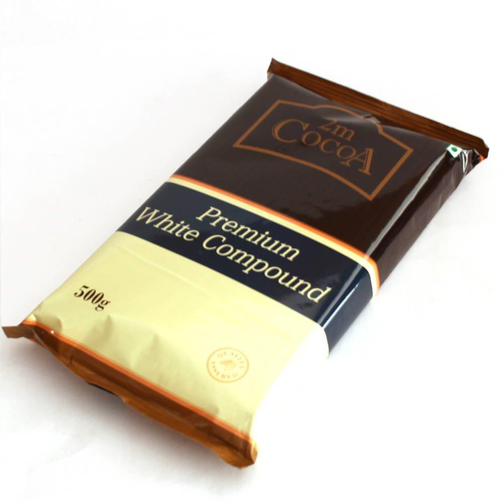 2M Cocoa Premium White Compound 500 gm