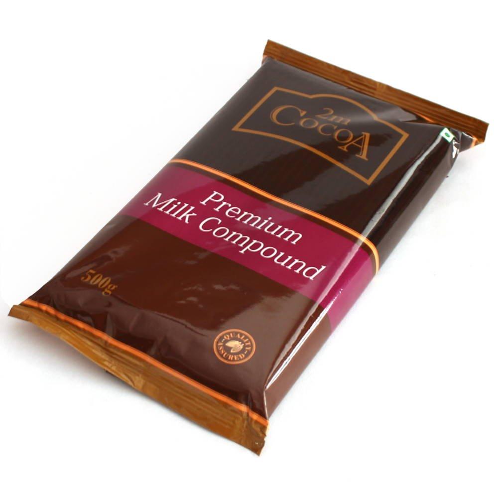 2M Cocoa Premium Milk Compound 500 gm