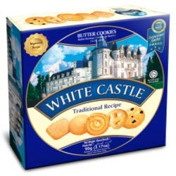 White Castle Cookies, Butter, 120g