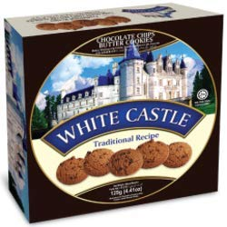 White Castle Cookies, Choclate Chips, 120g
