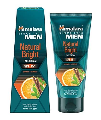 Himalaya Men Natural Bright Face Cream for Men (SPF 15) 25GM