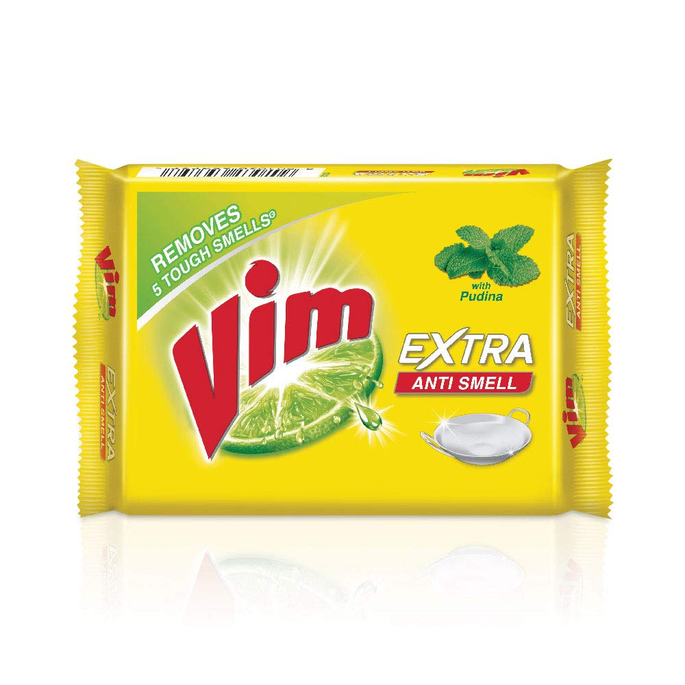 VIM PUDINA EXTRA ANTI SMELL 200 GM X 3