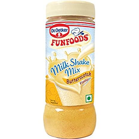 FUN FOODS MILK SHAKE MIX BUTTERSCOTH 200 GM