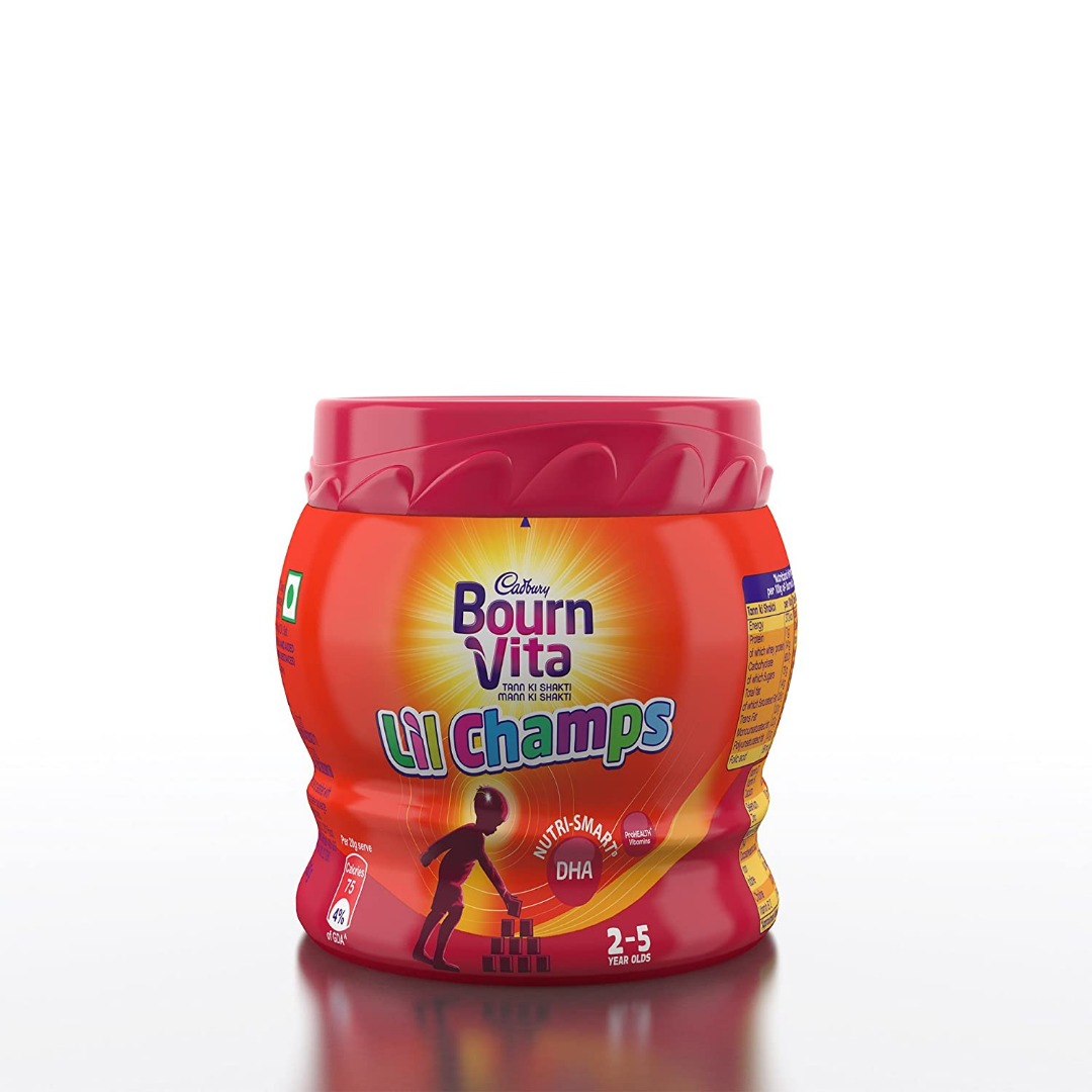 Bournvita Little Champs Pro-Health Chocolate Drink - 200 g Jar