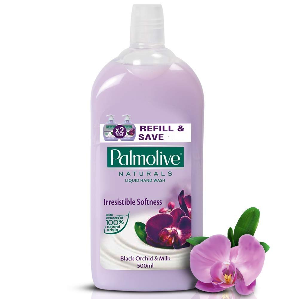 Palmolive Naturals Hand Wash - 500 ml (Black Orchid and Milk)