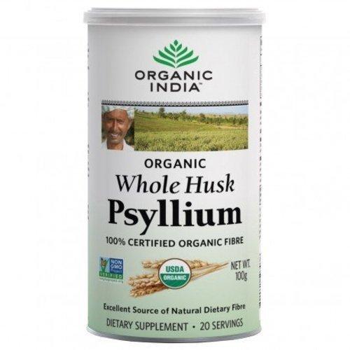 ORGANIC WHOLE HUSK PSYLLIUM 100G