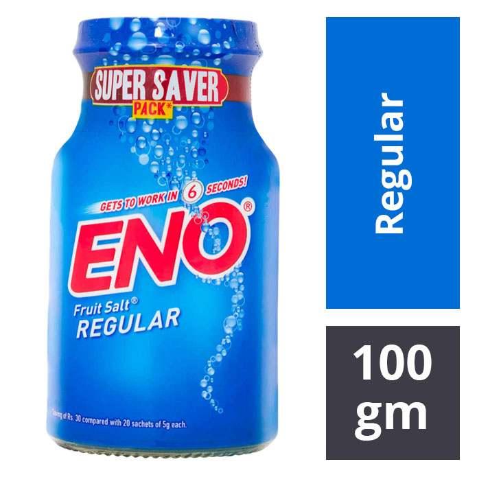 ENO FRUIT SALT REGULAR 100GM