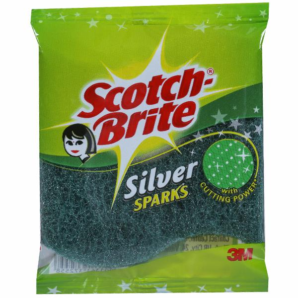SCOTCH BRITE SILVER SPARKS 3M