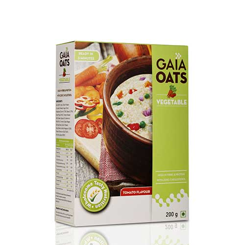 GAIA OATS VEGETABLES 200GM