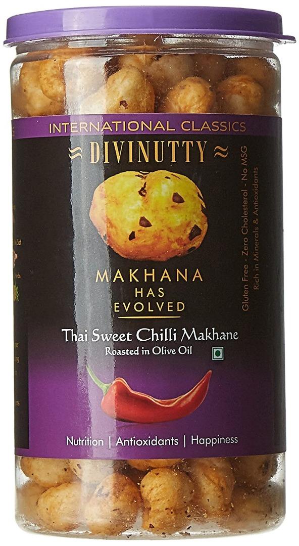 DIVINUTTY MAKHANA SWEET CHILLI 90G