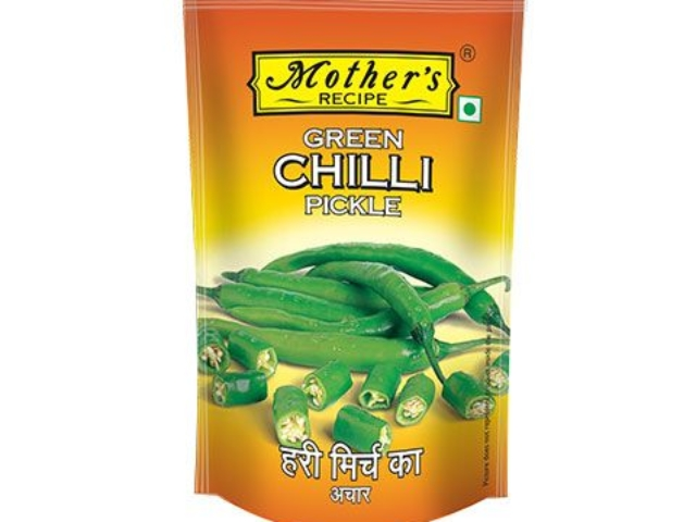 MOTHERS GREEN CHILLI PICKLE 200GM