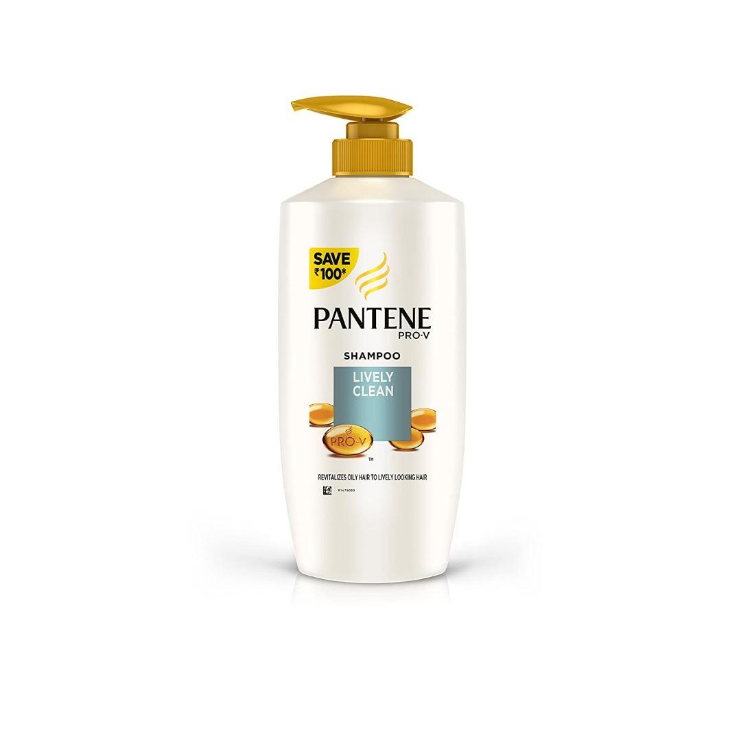 Pantene Lively Clean Shampoo, 675ml