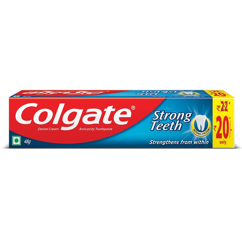 Colgate Strong Teeth Anti-Cavity Toothpaste, 46g