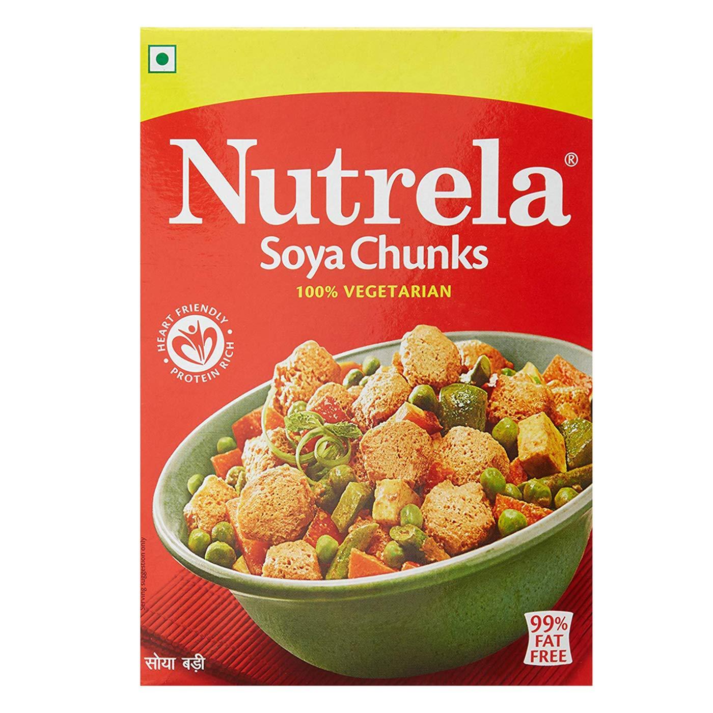 Nutrela SOYA - Chunks, 200g Pack