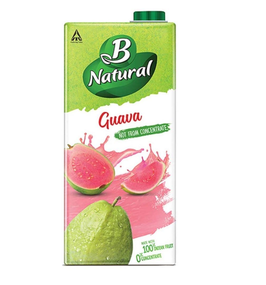 B-NATURAL GUAVA GUSH 1LTR