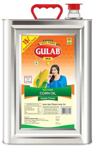 GULAB CORN OIL 15 LTR JAR