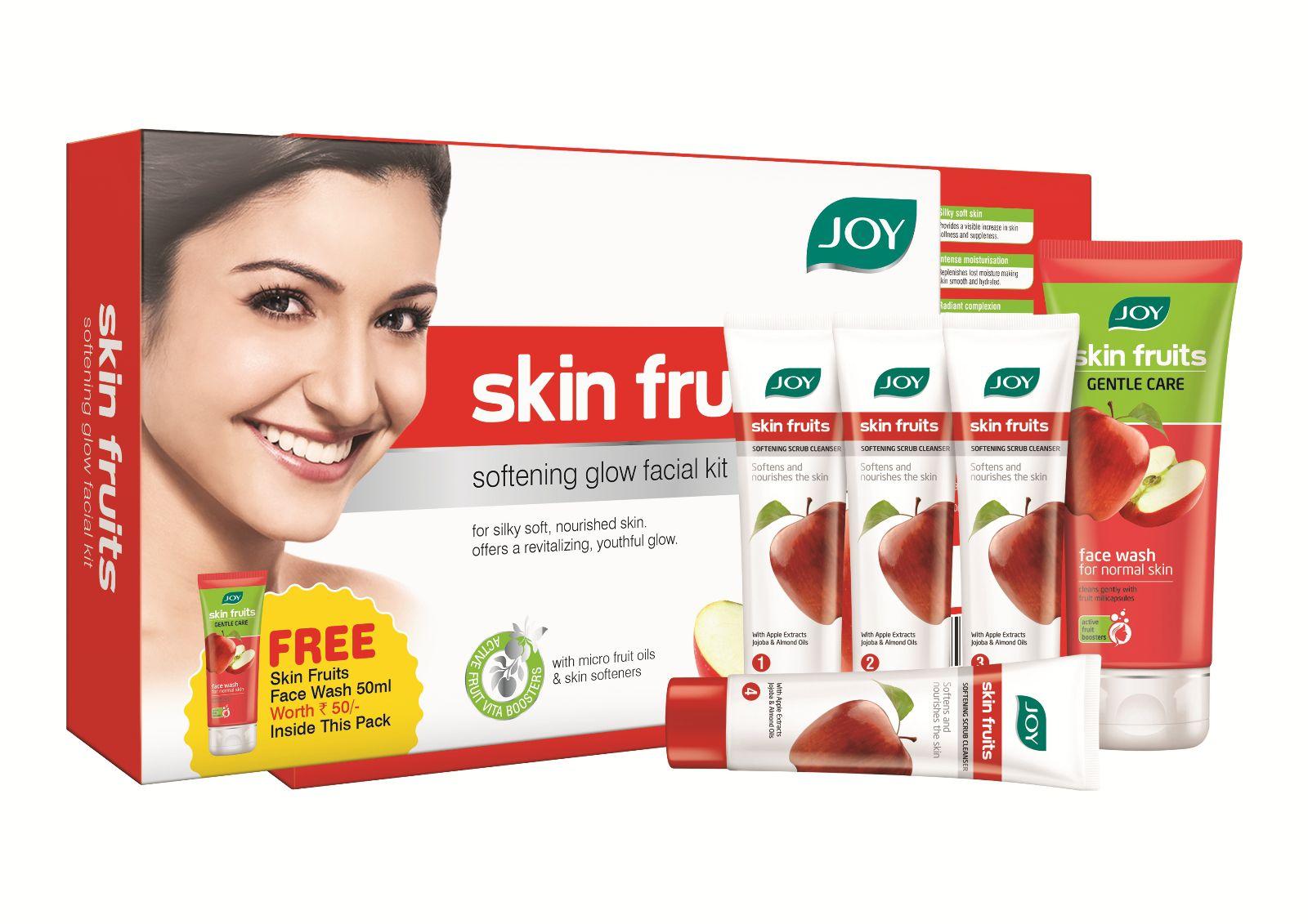 Joy Skin Fruit Softening Glow Facial Kit(55 g)