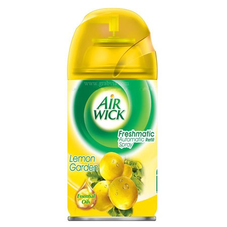 Air Wick Freshmatic Automatic Refill Lemon Garden Air Freshener 250 ml