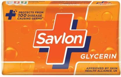 Savlon Glycerin Soap - 75g (Pack of 3)