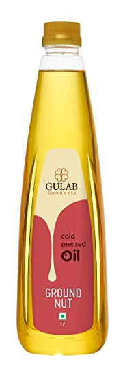 GULAB GROUNDNUT COLD OIL 1LTR