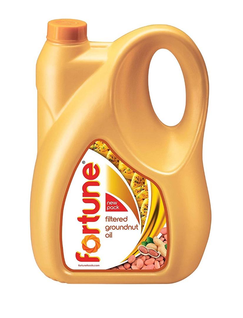 FORTUNE GROUNDNUT OIL 5LT JAR