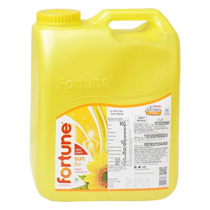 FORTUNE SUNFLOWR OIL 15L JAR