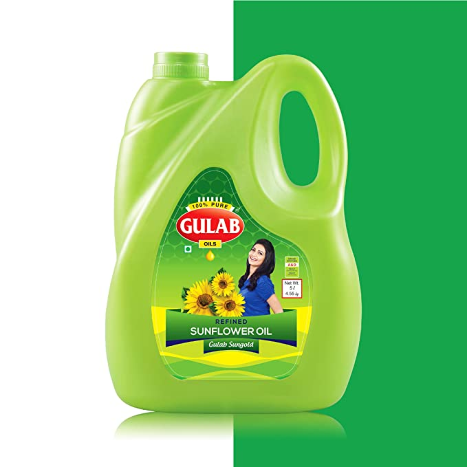 GULAB SUNFLOWER OIL 5LTR JAR