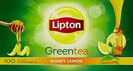 LIPTON  GREEN HONEY LEMON 100 BAGS