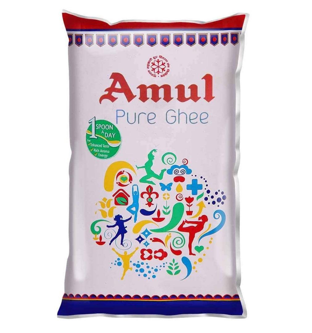 AMUL GHEE 1 LTR POUCH