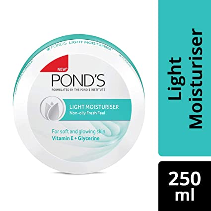 PONDS LIGHT MOISTURISER 250 ML