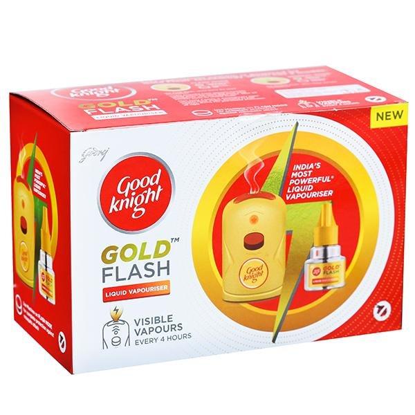 GOOD KNIGHT GOLD FLASH MACHINE+REFILL SET