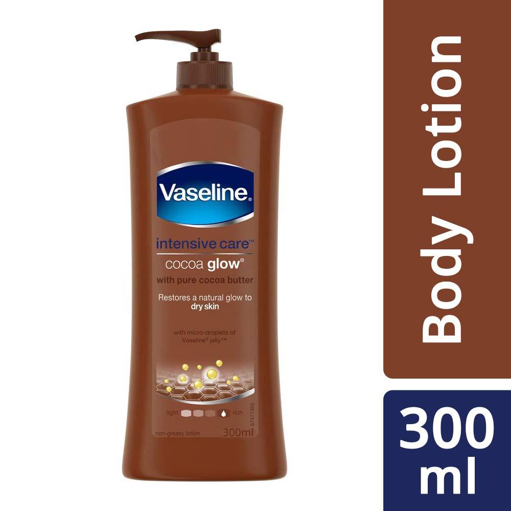 VASELINE COCOA GLOW LOTION 300 ML