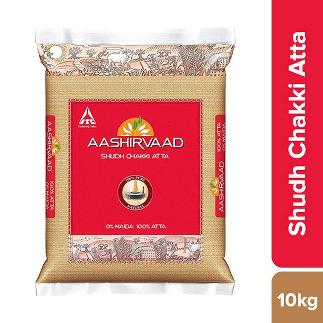 AASHIRWAD ATTA 10 KG