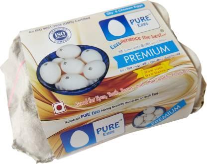 PURE EGGS PREMIUM 6PCS