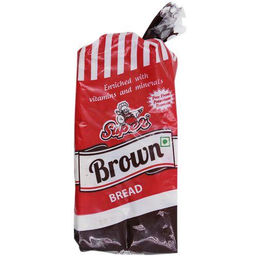 SUPER CRUSTLESS BROWN BREAD 600GM
