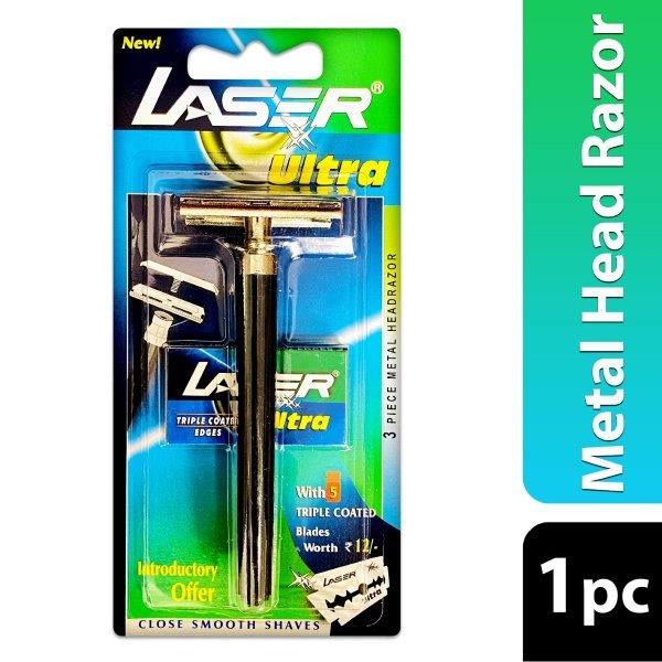 LASER ULTRA PLTNM 3PC RZR+5 BL