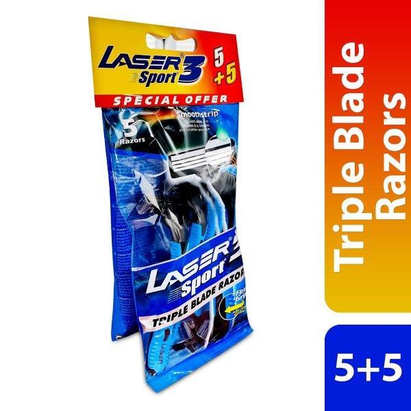 LASER SPORT3 5 + 5 TRIPL PCH